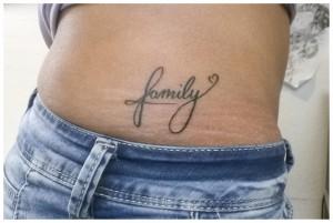 family tattoo script